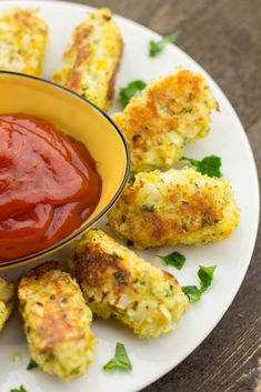 Cauliflower tots...they seem interesting to try but I'm not sure based on the calorie count that they're much healthier than potato ones.
