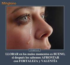 Frases para gente que llora