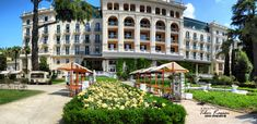 Palace Hotel in Portoroz / Port of Roses /, Slovenia, Nikon Coolpix B700, 8.1mm, 1/1250s, 1/1000s, 1/800s, 1/640s ISO100, f/4, panorama segment 6, HDR photography, 201805201118