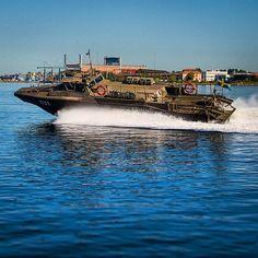 Combat Boat 90 (Stridsbåt 90H) outside the dock in Karlskrona. #AMF #svfm…