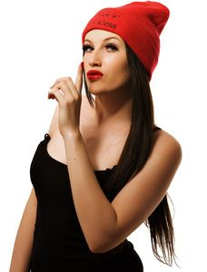 Image of Red Rich & Reckless Beanie www.RichandReckless.co.uk £9.99