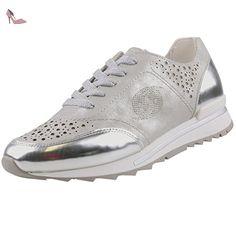 Dockers by Gerli  40cr201-686550, Sneakers Basses femme - argent - Silber (Silber 550), - Chaussures dockers by gerli (*Partner-Link)
