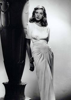 Lauren Bacall...great classic look