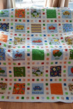 Richard scarry quilt