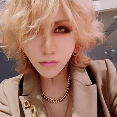 Ruki The Gazette, Kei Visual, Metal Bands, Pearl Necklace, Hair, Beautiful, Style, Musicians, Japanese