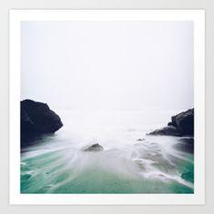 Mystic Ocean Art Print