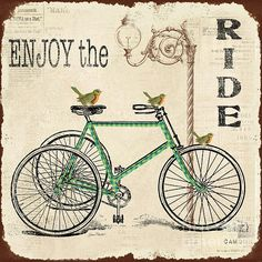 I uploaded new artwork to plout-gallery.artistwebsites.com! - 'Enjoy the Ride Bicycle Art' - http://plout-gallery.artistwebsites.com/featured/enjoy-the-ride-bicycle-art-jean-plout.html via @fineartamerica