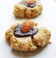 Almond Joy Cookies - chock full of healthy fats, fiber and even protein, these cookies are actually good for you!