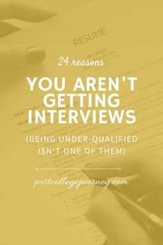 As a young professional, job hunting can be tough! Especially when you don't hear back from a potential employer. I collaborated with three professionals who work in HR to create a blog post that will help you increase your chances of getting an interview. #CareerAdvice #LifeAfterCollege #TheUnconventionalTraveler After College, Interview Process, Looking For A Job, One Job, Make Good Choices, Young Professional, College Hacks, Career Development, Job Description