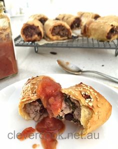 Healthy sausage rolls!! Gluten free and dairy free!