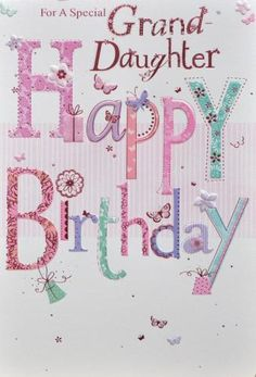 granddaughter birthday card code granddaugh card