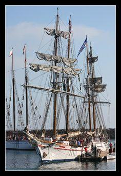 Tall Ships in Dana Harbor
