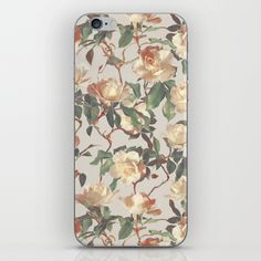 Skins are thin, easy-to-remove, vinyl decals for customizing your device. Skins are made from a patented material that eliminates air bubbles and wrinkles for easy application. Iphone Skins, Vintage Roses, Vinyl Decals, Bubbles, Easy, Pattern, Design, Patterns, Model