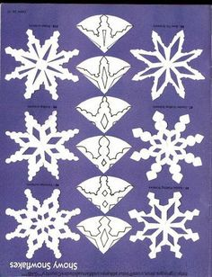snowflake cutting