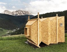 Colossal Camera Obscura frames the picture-perfect Dolomites | Inhabitat - Green Design, Innovation, Architecture, Green Building