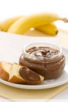 Brioche with Chocolate Banana Cardamom Jam