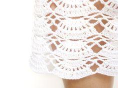 Crochet beach mini skirt #crochet #skirt #beach #summer #fashion #fashionista #skirt #crochet
