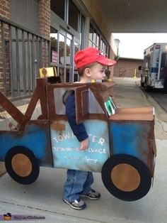 Tow Mater - Halloween Costume Contest. I wonder if my bil can make this for my nephew???