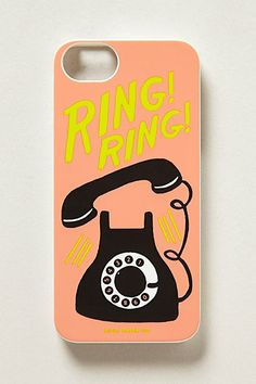 Social Tech: Ring Ring iPhone 5 Case #anthropologie