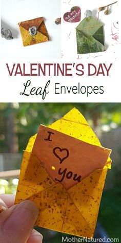 Pretty Leaf Envelope