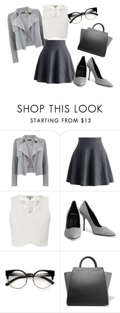 """""""Untitled #30"""" by mercija ❤ liked on Polyvore featuring Mint Velvet, Chicwish, Lipsy, Pierre Hardy and ZAC Zac Posen"""
