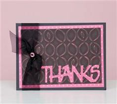 Create this adorable thank you card!