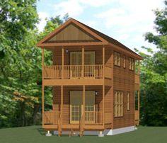 14x28 Tiny House -- #14X28H6 -- 749 sq ft - Excellent Floor Plans