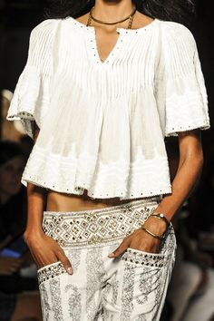 Isabel Marant at Paris Fashion Week Spring 2013
