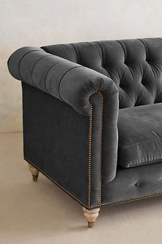 Lyre Chesterfield Sofa - anthropologie.com