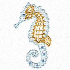 Declicate Seahorses - Especially For You | OregonPatchWorks
