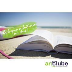Uma sugestão para esse fim de semana. Que tal por a leitura em dia?