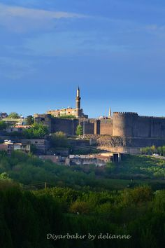 Diyarbakır, Turkey, Türkiye, Old City historic city by delianne - See Pic Turkish Architecture, Architecture Résidentielle, Cool Countries, Countries Of The World, Wonderful Places, Beautiful Places, Republic Of Turkey, Visit Turkey, Istanbul Turkey