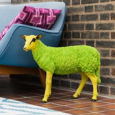 Decorative Pop Art Sheep Figurine by I Love Retro, the perfect gift for Explore more unique gifts in our curated marketplace.