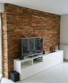 Woodindustries levert houtstrips van hoge kwaliteit teakhout, zeer exclusief. Woodstrips voor een unieke warme sfeer in huis.                                                                        Woodindustries Woodys, woodstrips, ook wel wallcladding, houtstrips of houten wandbekleding genoemd