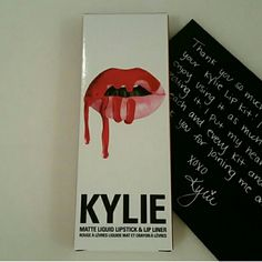 Lip Kit by Kylie 22 Lipkitbykylie Kylie's lipkit New color 22. Its definitely a gorgeous color.  Kylie cosmetics Abercrombie & Fitch Makeup Lip Balm & Gloss