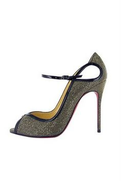 A girl can dream, right?  (Gorgeous peep-toe Christian Louboutins - Fall/Winter 2011 Collection.)