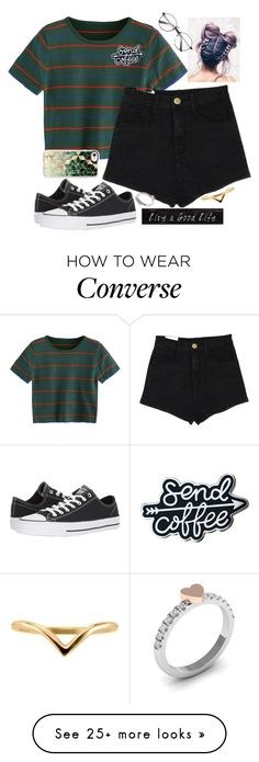 """Untitled #2254"" by tokyoghoul1 on Polyvore featuring Converse, Casetify and 3R Studios"