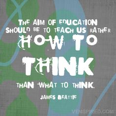 How to Think by venspired, via Flickr