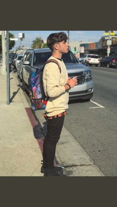 Rye waiting at the bus stop! Cute Boys, My Boys, Rye Beaumont, Roadtrip Boyband, Brooklyn Wyatt, I Hate People, Old Singers, S Pic, The Duff