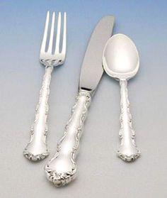 Silverware Amp Cutlery On Pinterest Flatware Knife Sets