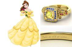 Marca de joias lança alianças inspiradas nas Princesas Disney - GLAMOUR   Moda