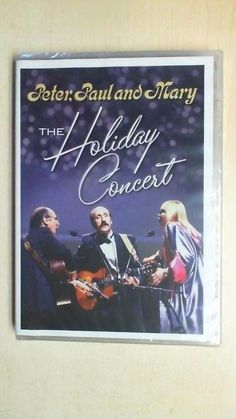 Peter, Paul and Mary: The Holiday Concert (DVD, 2011) B2D3