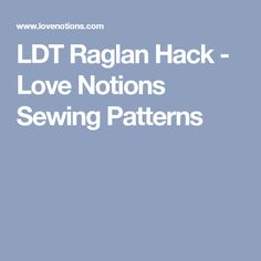 Use the free Laundry Day Tee to create your own raglan. If you love the flowy style of the LDT use this easy pattern hack to make a raglan style LDT. Plus Size Sewing Patterns, Sewing Notions, Sewing Tutorials, Hacks, Laundry, Clothes, Laundry Room, Outfits, Clothing