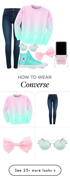 """Not Adult Today"" by pro-styles on Polyvore featuring Pieces, Aloha From Deer, Converse, Miu Miu and Context"