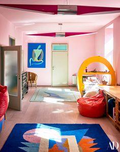 Alessandro Mendini's Italian vacation home