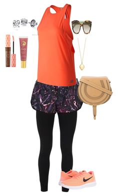 """""""Park time"""" by alexseidel on Polyvore featuring Peace of Cloth, New Balance, NIKE, Lano, Chloé and Benefit"""