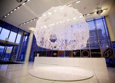 数千頭の蚕を操る、MITの幻想的「絹のドーム」:ギャラリー « WIRED.jp