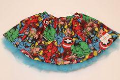 Avengers tutu skirt