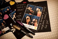 would LOVE a photobooth... fun instant gratification for  guest favors!