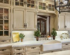 top glass cabinets
